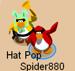 Spider hat pop
