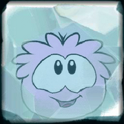 Freeze pink puffle