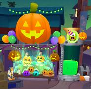 Halloween shop exterior