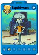 Squidward playercard