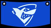 Bandera de Tiburones icono