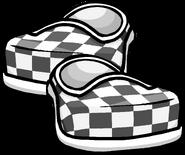 BlackCheckeredShoes