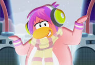 "Cadence in ""The Party starts now!""."