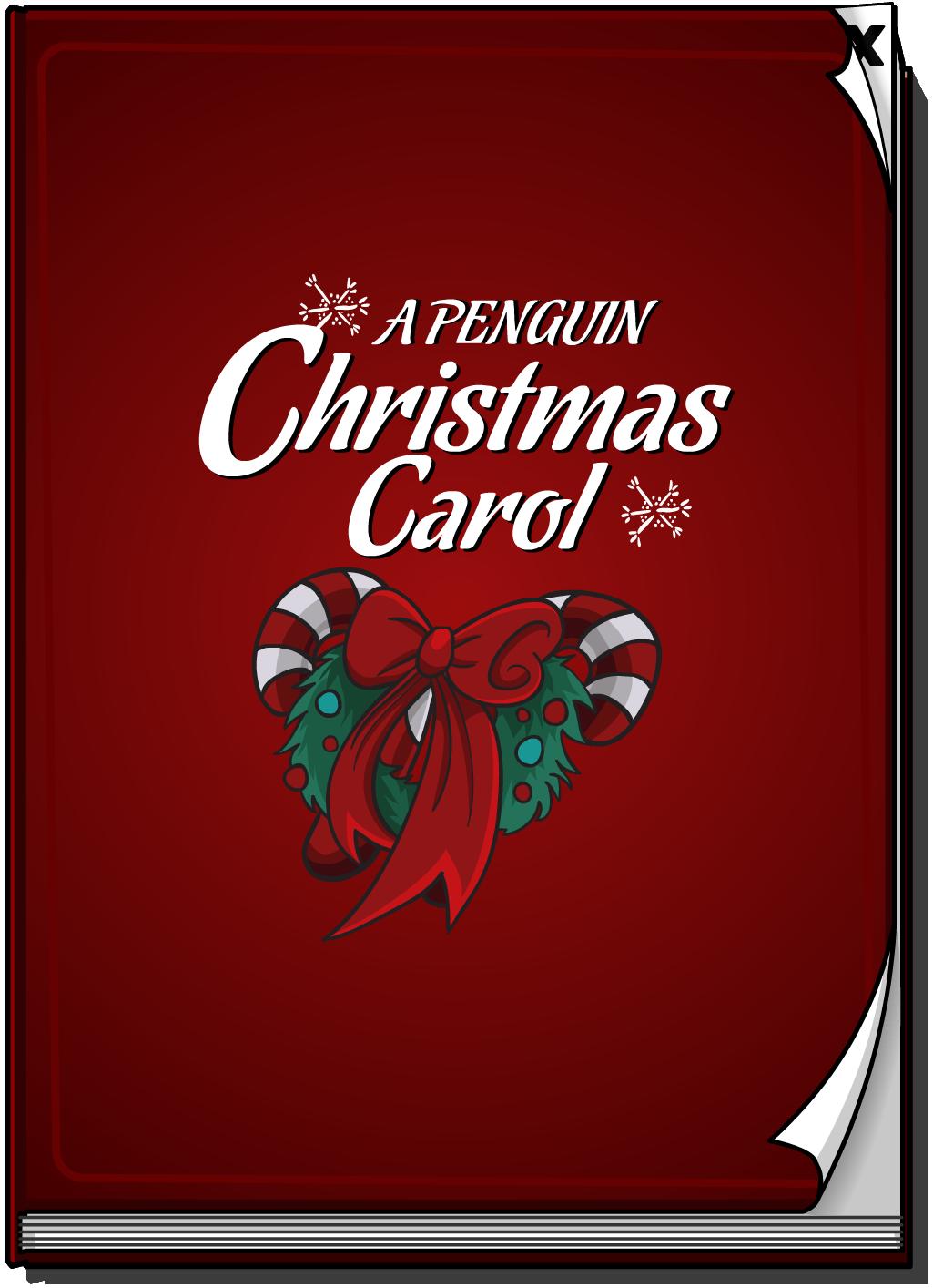 Christmas Carol Book.A Penguin Christmas Carol Club Penguin Wiki Fandom