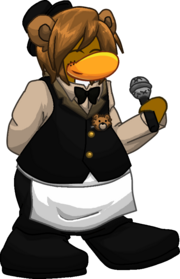 Freddy Fazbear Five Night's at Freddy's Pole-Bear Club Penguin