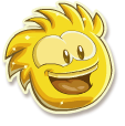 Gold puffle selected