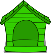 Green Puffle House sprite 001