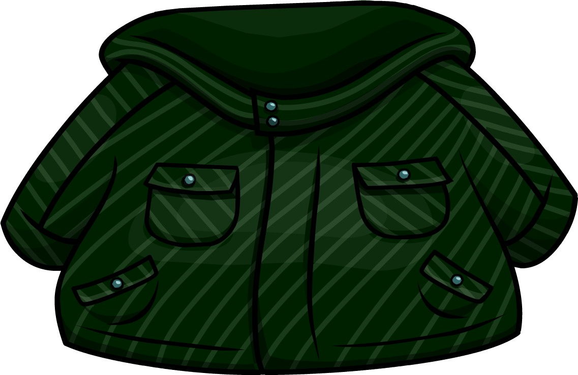 real deal enjoy big discount 100% quality quarantee Green Winter Jacket | Club Penguin Wiki | FANDOM powered by ...