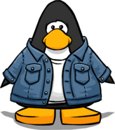 Jean Jacket from a Player Card