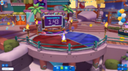 Waddle On Party Island Central dance battle