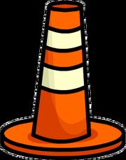 Cono de Construcción icono