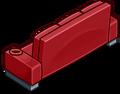 Red Designer Couch sprite 013