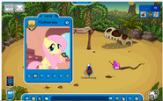What Fluttershy Player Card Might Look Like If She were Meetable