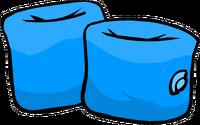 Bracitos para el Agua Azules Icono