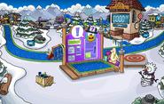 Fuerte Nevado Fiesta de la Isla de Club Penguin