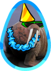 Shurow the Walrus Easter Egg