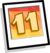 11th Anniversary Background icon