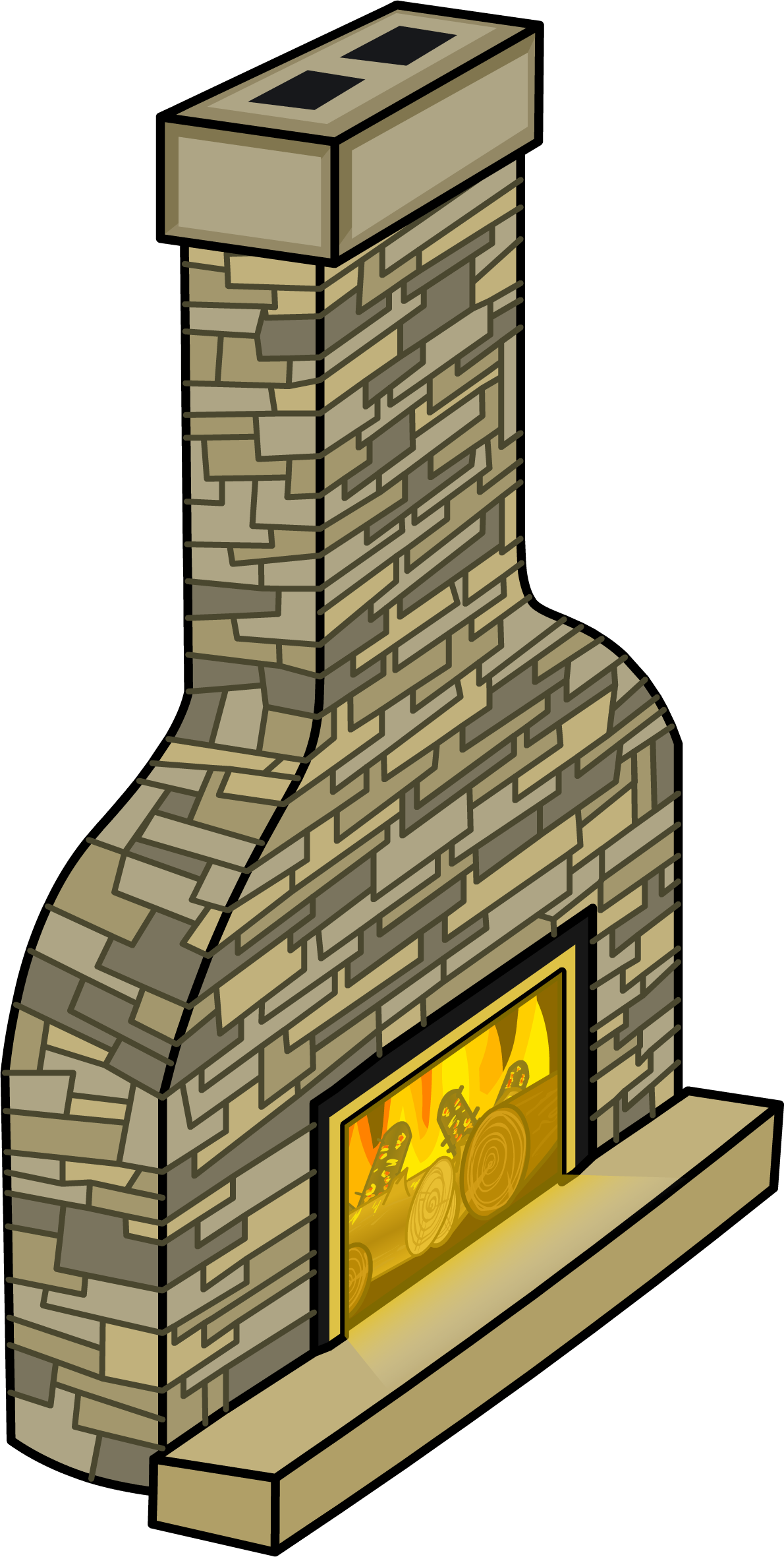 image cozy fireplace sprite 004 png club penguin wiki fandom