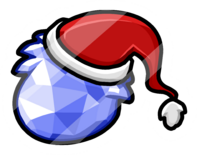 Crystal Puffle Pin icon