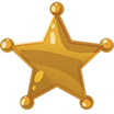 Decal Star toy icon