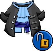 Unlockable Gray Pirate Coat