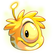 Yellow Alien Puffle