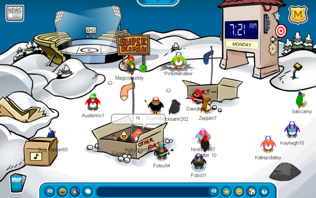 File:April Fools Party 2007 Snow Forts.png