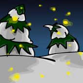 Fireflies Background