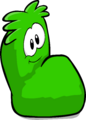 Fuzzy Green Couch sprite 006