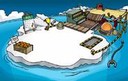 Iceberg en la fiesta submarina
