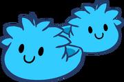 Pantuflas de Puffle Celeste icono