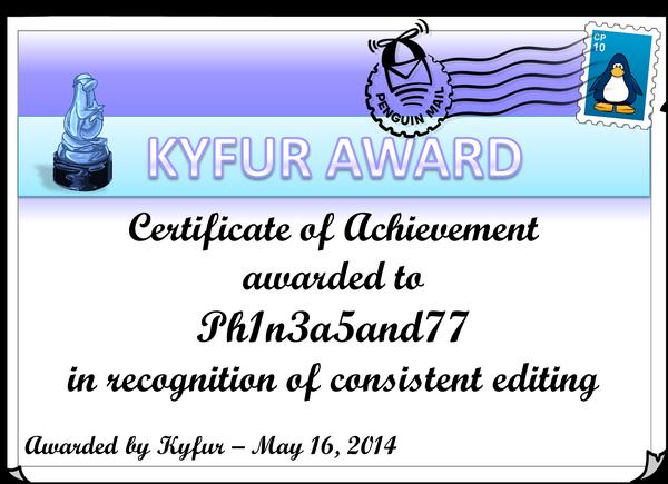 Ph1n3a5and77Award