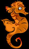 Underwater Adventure seahorse