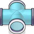 4-Way Puffle Tube sprite 012