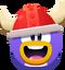 Emoji Red Viking Face