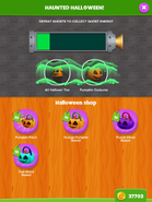 Halloween shop menu 1