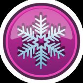 Interfaz de Copos de Nieve icono