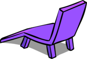 Purple Plastic Lawn Chair sprite 003