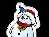 Pin de Hombre de Nieve