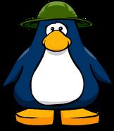 Sombrero de Safari Verde tarjeta