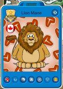 Tarjeta de Jugador de Lion Mane