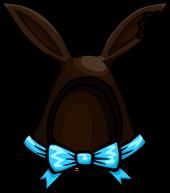 Dark Cocoa Bunny Ears clothing icon ID 1242