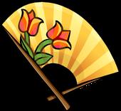 Fire Blossom Fan