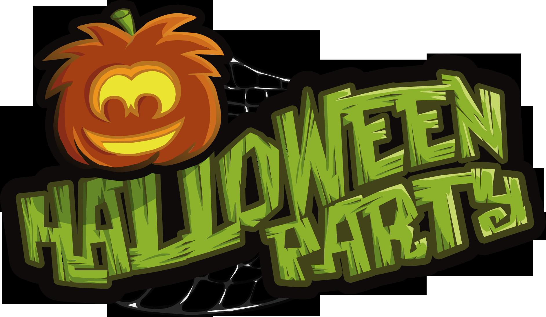 Image - Halloween Parties logo.png | Club Penguin Wiki | FANDOM ...
