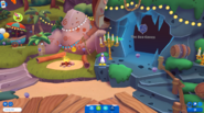 Waddle On Party Coconut Cove campfire