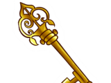 Old Key Pin