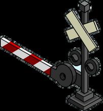 Rail road cross