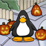 Trick or Treat BG on a Player Card