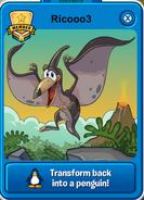 Black Pteranodon