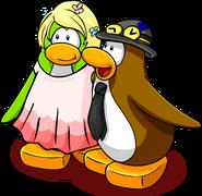 Penguin Awards Week 3 postcard penguins